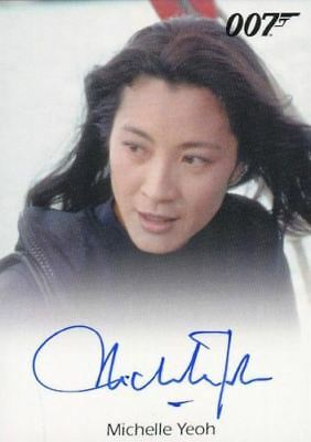 James Bond 50th Anniversary Series Two Michelle Yeoh Autograph Card