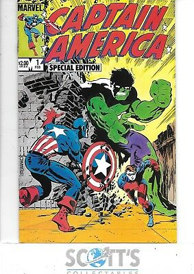 Captain America Special Edition  #1  NM-