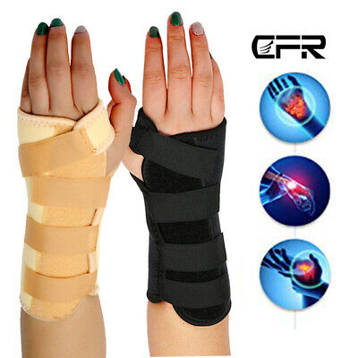 CFR Breathable Wrist Support Splint for Sprain Injury Carpal Tunnel Pain Relief