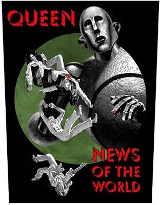 Queen News of the World Large Sew-On Cloth Backpatch (rz)
