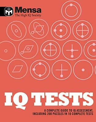 Mensa: IQ Tests by Mensa Book The Cheap Fast Free Post