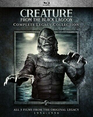 Creature From The Black Lagoon: Comp Legacy Coll - 2 DISC (REGION A Blu-ray New)