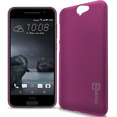 Purple (Violet) Hard Case for HTC One A9 Slim Fit Matte Snap On Back Phone Cover