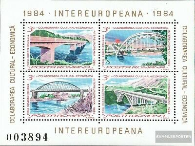 Romania block202 (complete issue) unmounted mint / never hinged 1984 INTEREUROPA
