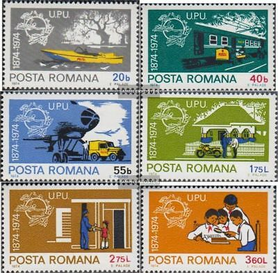 Romania 3194-3199 (complete issue) unmounted mint / never hinged 1974 100 years