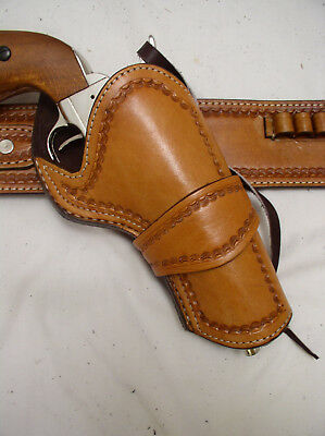 CROSS DRAW HOLSTER fits Single Action Ruger Colt Western Leather Gun Holster