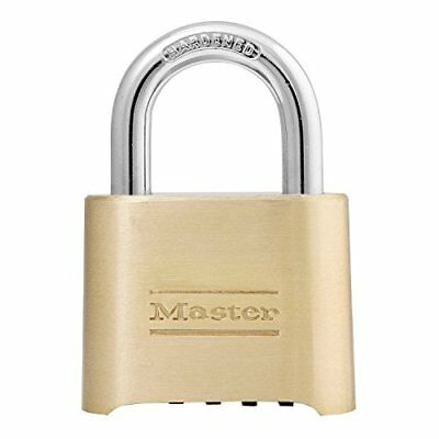 Master Lock Padlock, Set Your Own Combination Lock, 2 in. Wide, 175D