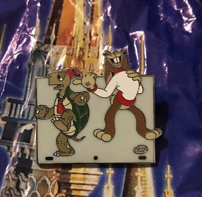 Disney Animation Celebration Tortoise And The Hare Chaser Pin LE 400
