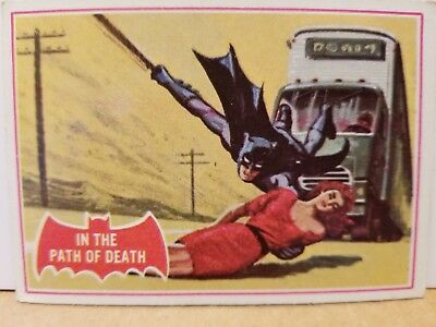 Vintage Original 1966, Batman Trading Card # 38-A