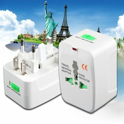 All In One International Travel Power Charger Universal Adapter AU/UK/US/EU VF