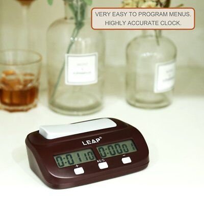 Chess Clock Timer Digital Chess Clock Two LED Screens Fashion Simple B^^FVF