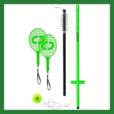 CIRCUIT® Outdoor Sports Deluxe Totem Tennis Set Bat Ball + BONUS FREE DELIVERY