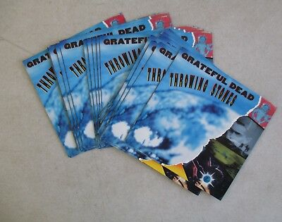 """Lot Of 28 Grateful Dead - Throwing Stones 7"""" Record Picture Sleeves Only"""