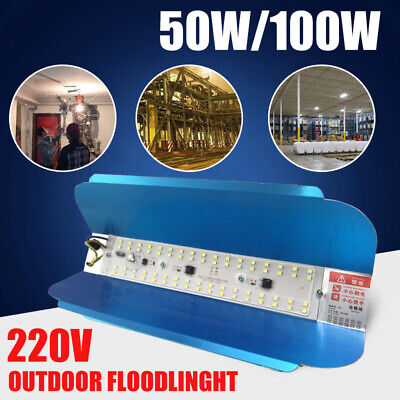 50W/100W LED Flood Light Outdoor Garden Landscape Yard Spot Iodine-tungsten Lamp