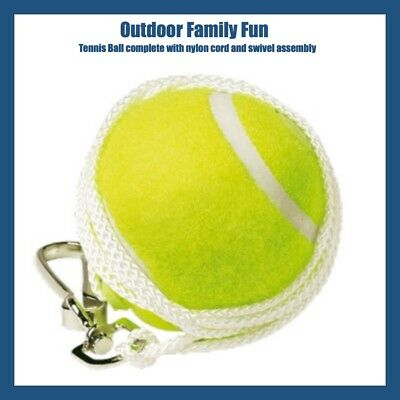 Outdoor Sports Deluxe Totem Tennis Spare Replacement Ball Nylon Cord Swivel Kit