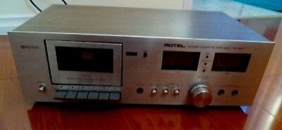 ROTEL RD-300 HI FI Vintage stereo cassette deck with VU meters Made In Japan