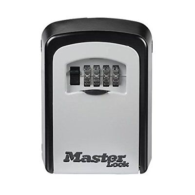 Master Lock 5401D Lock Box, Set Your Own Combination Wall Mount Key Safe, 3-1/4""