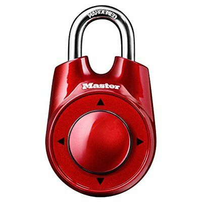 Master Lock 1500ID Padlock, Set Your Own Speed Dial Combination Lock, 2-1/8 in
