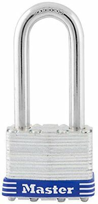 """Master Lock 1DLH Steel Laminated Padlock with 2"""" Shackle and 1-3/4"""" Wide, 1-3/4"""""""