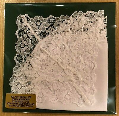 Nottingham Lace Handkerchief