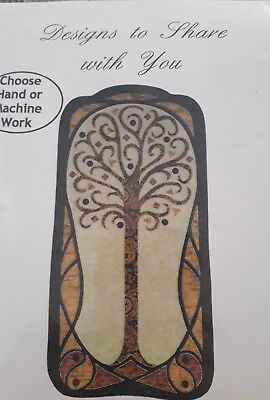 TREE OF LIFE URSULA RiEGEL QUILT PATTERN HAND OR MACHINE