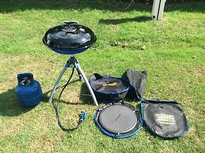 Cadac Adventure To Go.Cadac Adventure To Go Eazi Chef Barbeque Bbq With Gas Canister