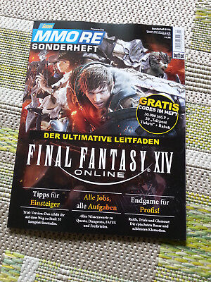 MMORE Sonderheft - PC Games - Final Fantasy XIV - Codes im Heft
