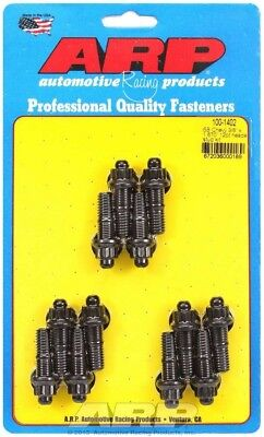 ARP Header Stud 1.670 in. 12 Point Nuts Black Oxide SBC 12 pc 100-1402