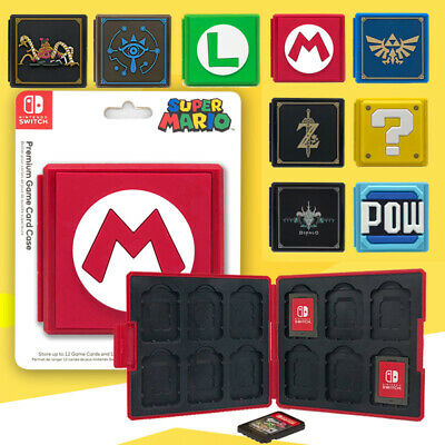 Nintendo Switch Game Card Case Holder Storage Box Travel Carry Protector Cover
