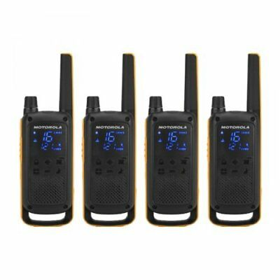 Motorola Talkabout T82 Extreme PMR446 2-Way Walkie Talkie Radio Quad Pack