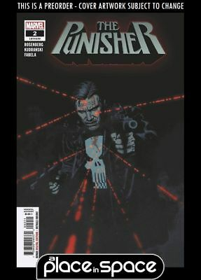 (Wk39) The Punisher, Vol. 12 #2A - Preorder 26Th Sep