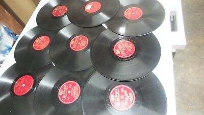 FRANK SINATRA/MIFF MOLE/PHIL ZITO/FRANKIE CARLE +++78 RPM COLUMBIA lot of 9