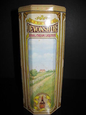 Devonshire Royal Cream Liqueur Collectible Tin
