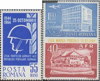 Romania 2259,2305-2308,2343, 2344Zf fine used / cancelled 1964 Bottom, Fall, Arm