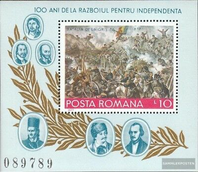 Romania block139 (complete issue) unmounted mint / never hinged 1977 Independenc