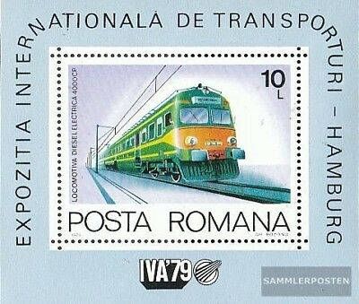 Romania block166 (complete.issue.) unmounted mint / never hinged 1979 Locomotive