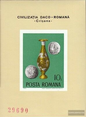Romania block132 (complete issue) unmounted mint / never hinged 1976 Archaeologi