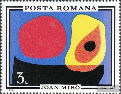 Romania 2904 (complete.issue.) unmounted mint / never hinged 1970 Paintings
