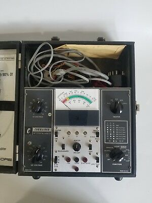 Commander CRT Picture Tube  Analyzer & Rejuvenator with Manual