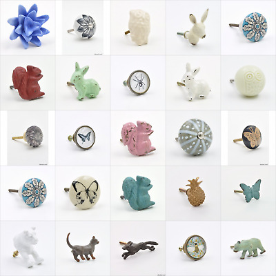 Nature Natural Floral And Fauna Knob, Pull, Handle, for Cupboards, Doors, Cabine