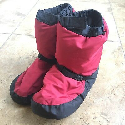 Bloch Warm Up Dance Booties Kids Small Red Black
