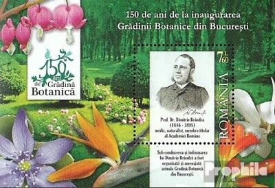 Romania Block471 (complete.issue.) unmounted mint / never hinged 2010 Botanical