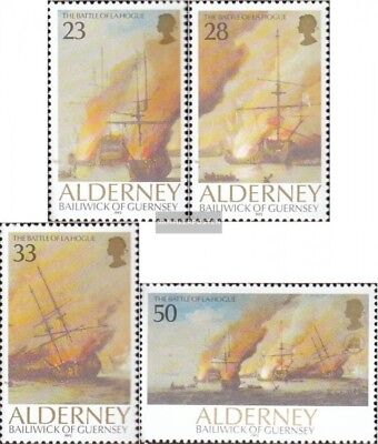 united kingdom-Alderney 55-58 (complete issue) unmounted mint / never hinged 199