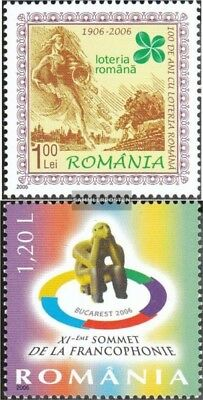 Romania 6123,6127 (complete.issue.) unmounted mint / never hinged 2006 lottery,