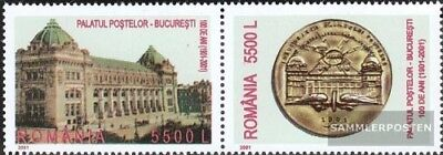 Romania 5626-5627 Couple (complete.issue.) unmounted mint / never hinged 2001 ma