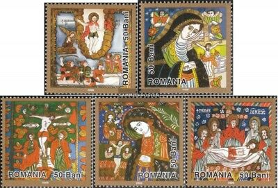 Romania 6041-6045 (complete.issue.) unmounted mint / never hinged 2006 Easter -