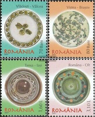 Romania 6199-6202 (complete.issue.) unmounted mint / never hinged 2007 Romanian