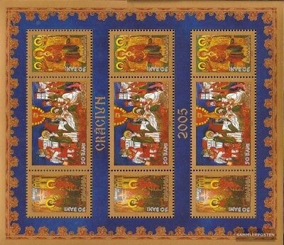Romania 6013A Sheetlet (complete.issue.) unmounted mint / never hinged 2005 chri