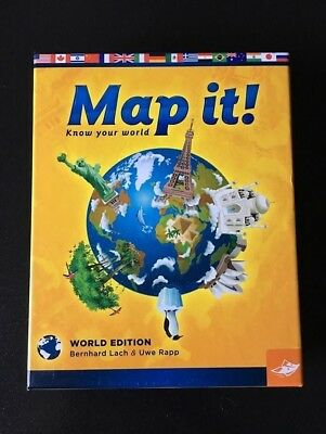 Geography history educational toys hobbies picclick map it know your world geography card game world edition gumiabroncs Gallery