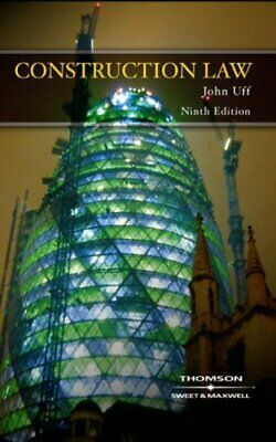 Construction Law by John Uff Paperback Book The Cheap Fast Free Post